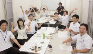 株式会社コスモワークさまフローマネジメント研修~仲間と学び、楽しみ、成長する~(5ヶ月・全4回)